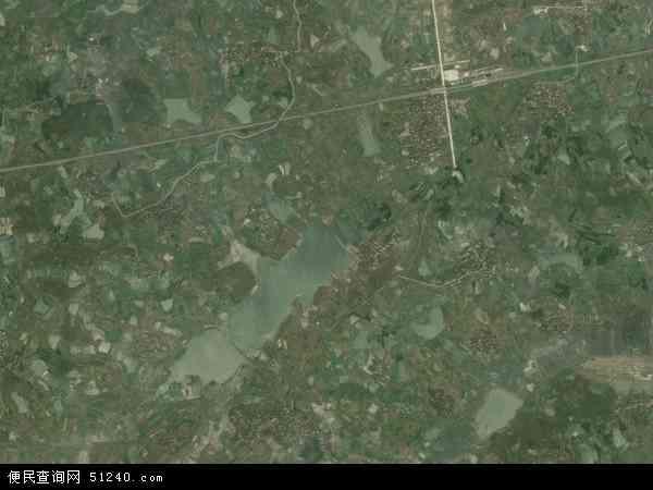 中国安徽省合肥市肥东县陈集镇地图(卫星地图)
