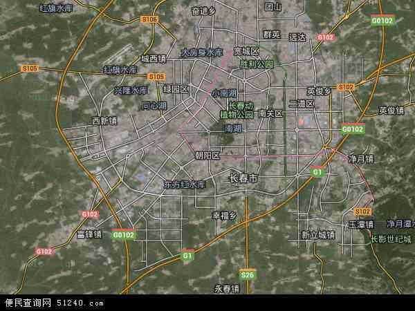 朝阳区地图 朝阳区卫星地图 朝阳区高清航拍地图 朝阳区高清卫星地图 高清图片