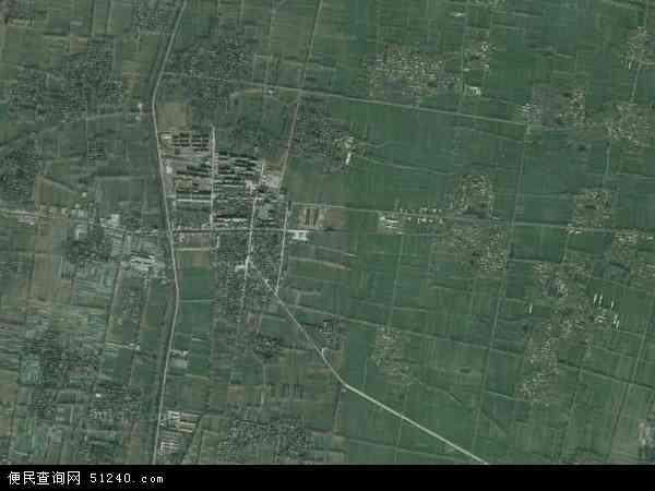 中国河南省商丘市永城市陈集镇地图(卫星地图)