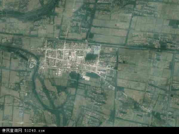 中国江苏省宿迁市宿豫区大兴镇地图(卫星地图)
