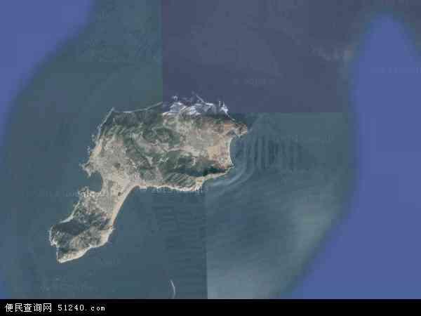大钦岛乡地图 - 大钦岛乡卫星地图
