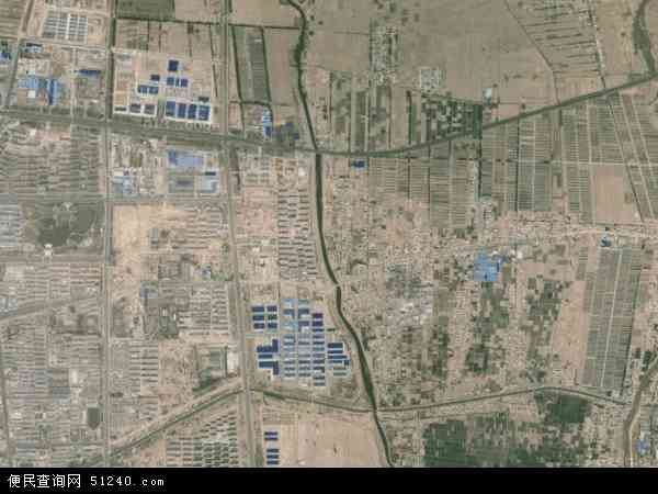 中国宁夏回族自治区吴忠市利通区东塔寺乡地图