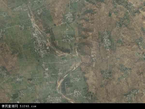 中国河南省平顶山市鲁山县董周乡地图(卫星地图)