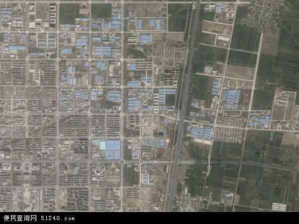 大赉店镇地图 - 大赉店镇卫星地图
