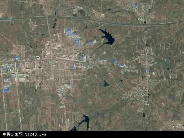 中国山东省烟台市蓬莱市大辛店镇地图(卫星地图)