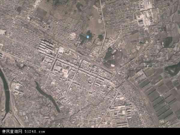 中国内蒙古自治区呼伦贝尔市鄂伦春自治旗大杨树镇地图(卫星地图)