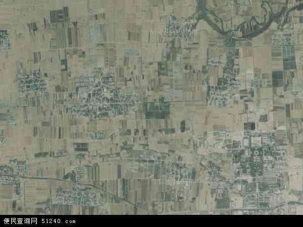 中国陕西省咸阳市杨陵区大寨镇地图(卫星地图)