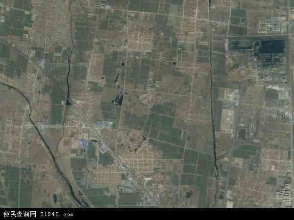 中国山东省日照市莒县浮来山镇地图(卫星地图)