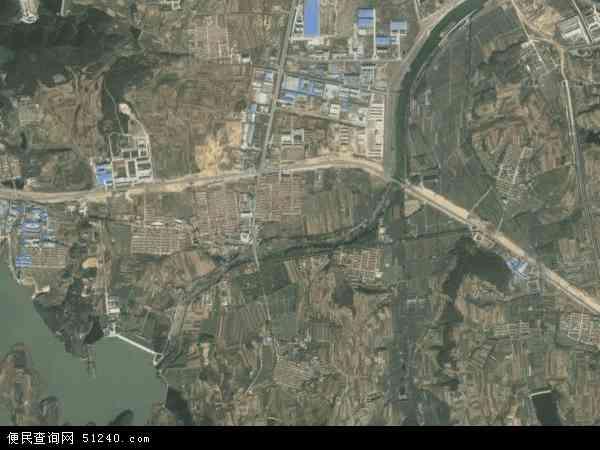 崮山镇高清卫星地图 崮山镇2016年卫星地图 中国山东省威海市环翠