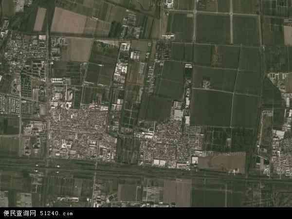 中国北京市顺义区高丽营镇地图(卫星地图)