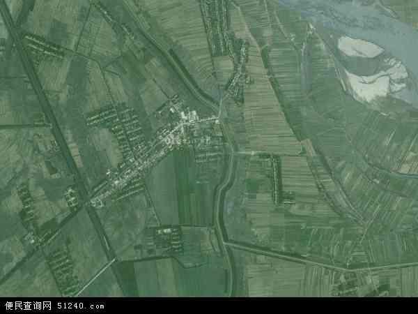 高石碑镇地图 - 高石碑镇卫星地图