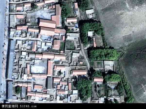 中国青海省海南藏族自治州贵南县过马营镇地图(卫星地图)