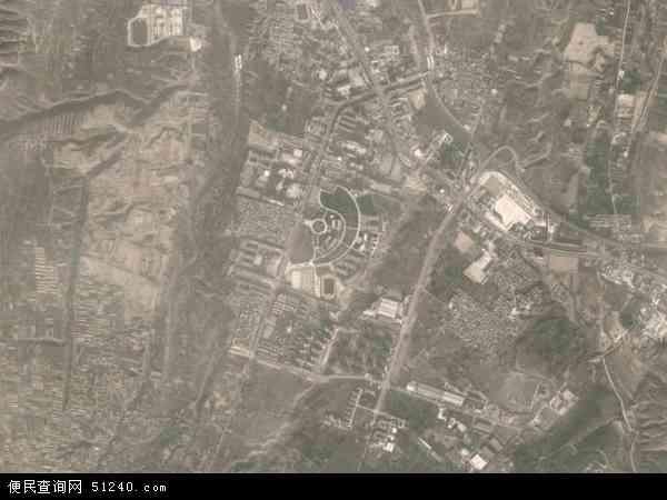 中国甘肃省兰州市榆中县和平镇地图(卫星地图)