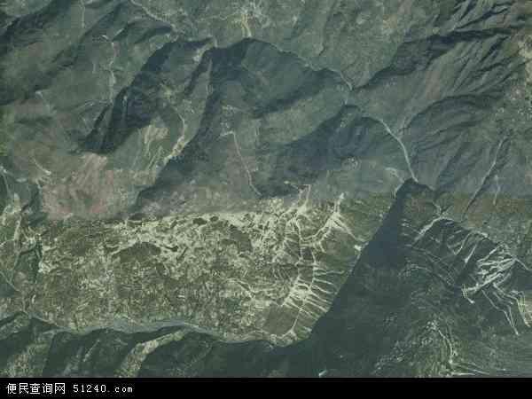 中国四川省凉山彝族自治州金阳县红联乡地图