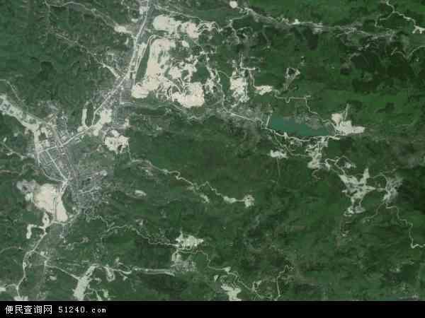 中国湖南省衡阳市衡阳县界牌镇地图(卫星地图)