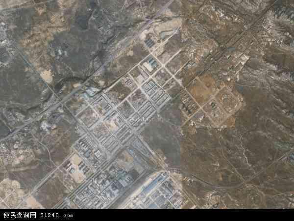 中国陕西省榆林市神木县锦界镇地图(卫星地图)
