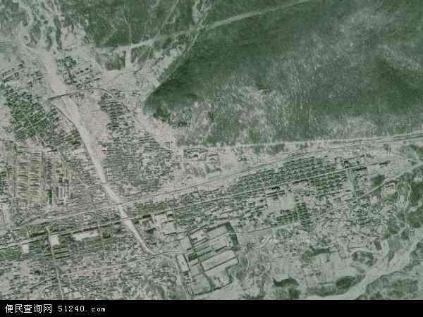 克一河林业局卫星地图