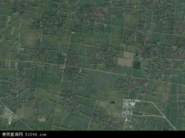 河南项城市李寨镇_李寨镇地图 - 李寨镇卫星地图 - 李寨镇高清航拍地图