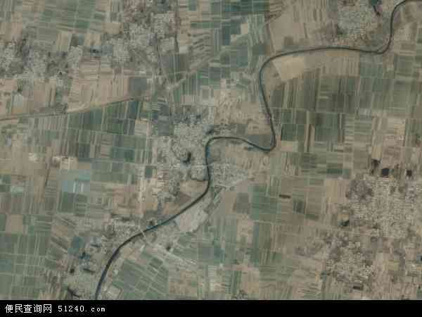 中国河北省衡水市武邑县龙店乡地图(卫星地图)