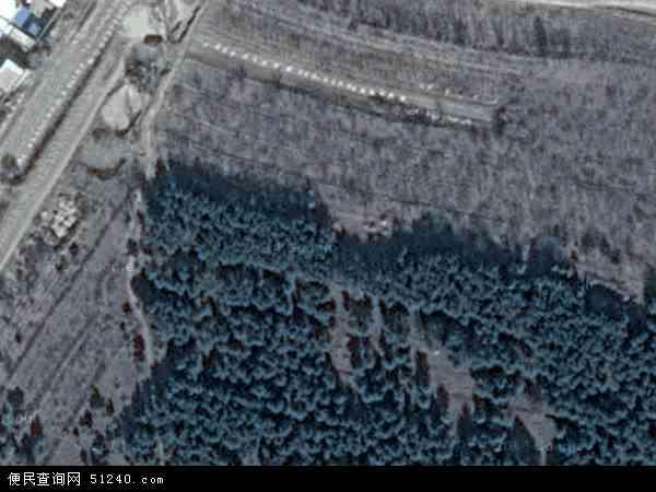 中国辽宁省朝阳市建平县罗福沟乡地图(卫星地图)