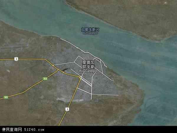 里奥加耶戈斯高清航拍地图