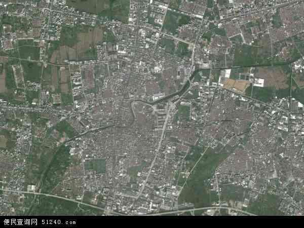 中国广东省汕头市潮南区两英镇地图(卫星地图)