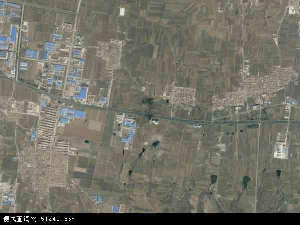 中国山东省烟台市蓬莱市刘家沟镇地图(卫星地图)