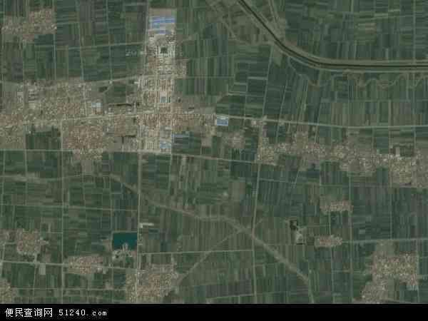 中国河南省周口市项城市李寨镇地图(卫星地图)
