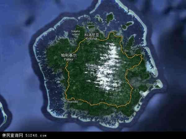 密克罗尼西亚卫星地图 - 密克罗尼西亚高清卫星地图 - 密克罗尼西亚高清航拍地图 - 2016年密克罗尼西亚高清卫星地图