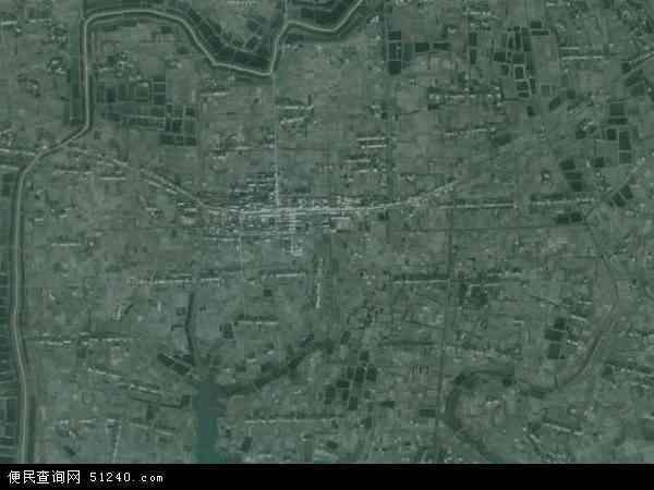 中国湖北省荆州市荆州区马山镇地图(卫星地图)