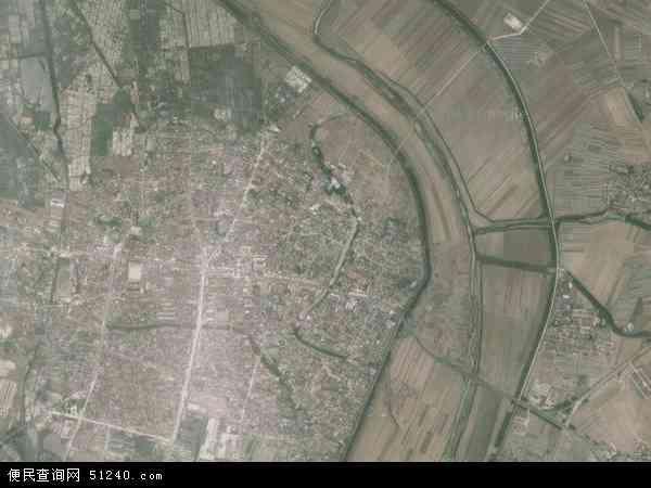 中国辽宁省鞍山市海城市牛庄镇地图(卫星地图)