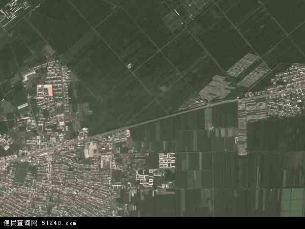 四方台镇地图 - 四方台镇卫星地图