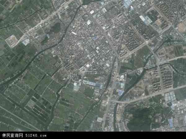 中国广东省中山市坦洲镇十四村社区地图(卫星地图)