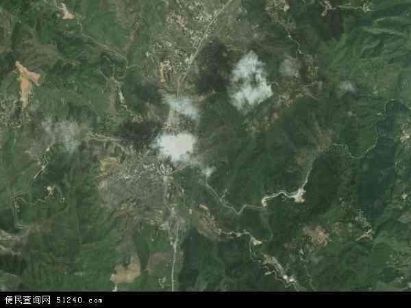 中国福建省三明市大田县太华镇地图(卫星地图)