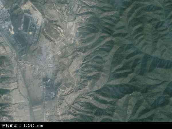 中国山西省临汾市安泽县唐城镇地图 卫星地图