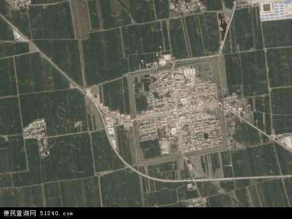 塔子城镇航拍照片,2015塔子城镇卫星地图