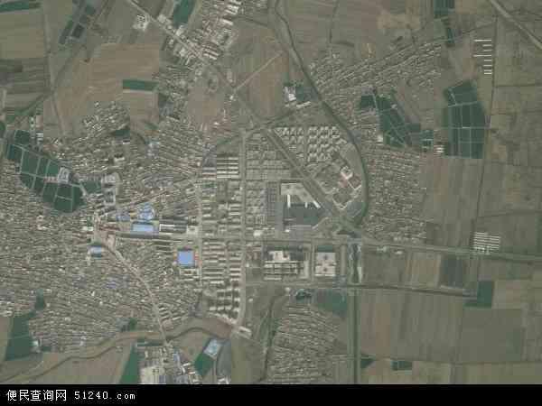 中国辽宁省辽阳市灯塔市佟二堡镇地图(卫星地图)