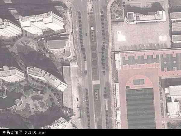 中国河南省洛阳市洛龙区太康东路地图(卫星地图)图片