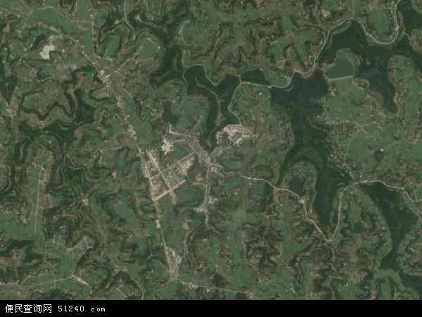 塔山镇卫星地图 - 塔山镇高清卫星地图