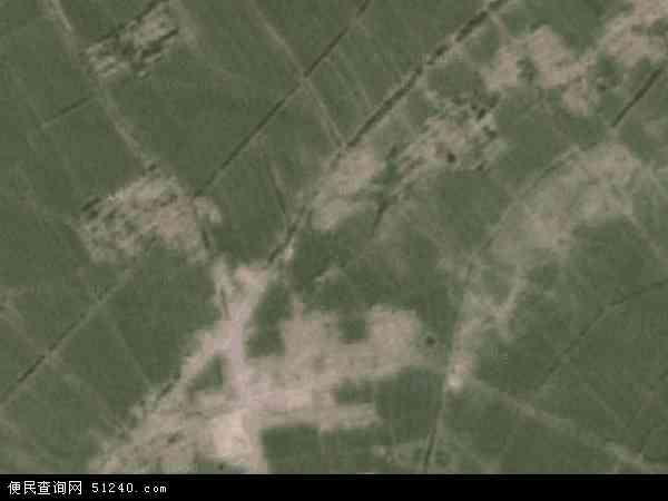 中国吉林省长春市农安县万金塔乡地图(卫星地图)