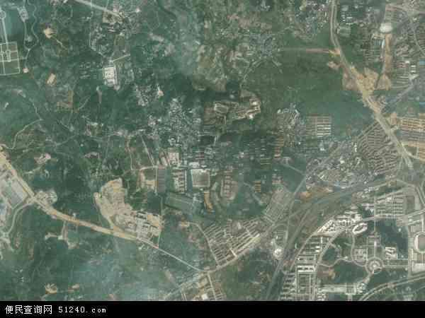 望城镇高清卫星地图