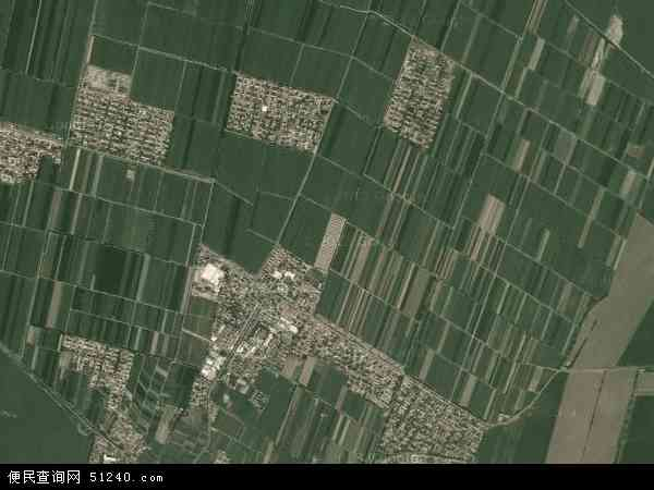 中国新疆维吾尔自治区塔城地区沙湾县乌兰乌苏镇地图
