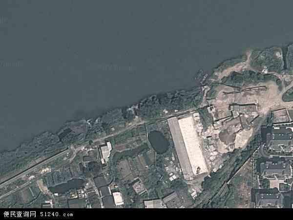 中国湖南省邵阳市北塔区新滩镇地图(卫星地图)