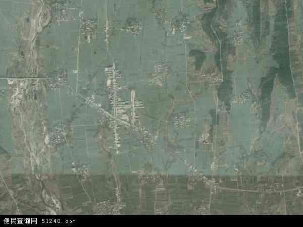 中国河南省驻马店市泌阳县下碑寺乡地图(卫星地图)