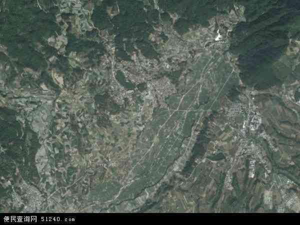 中国云南省德宏傣族景颇族自治州芒市轩岗乡地图(卫星地图)