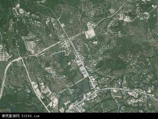 中国福建省莆田市荔城区西天尾镇地图(卫星地图)