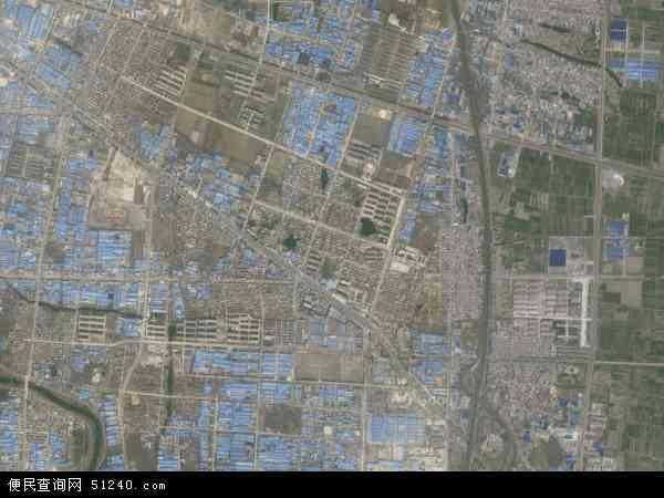 中国山东省临沂市兰山区义堂镇地图(卫星地图)