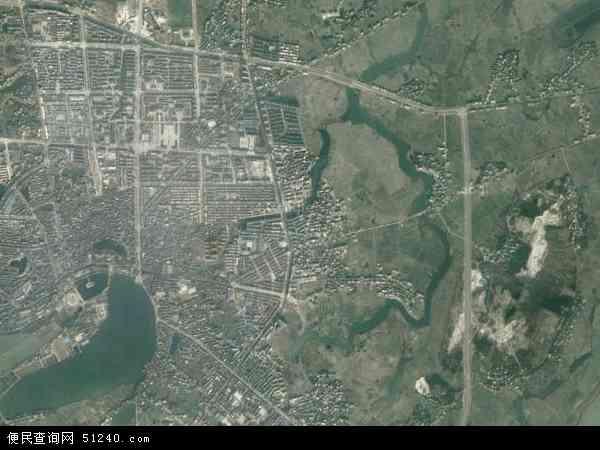 中国江西省上饶市余干县玉亭镇地图(卫星地图)