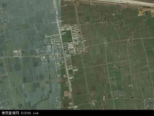 中国河南省南阳市邓州市赵集镇地图(卫星地图)