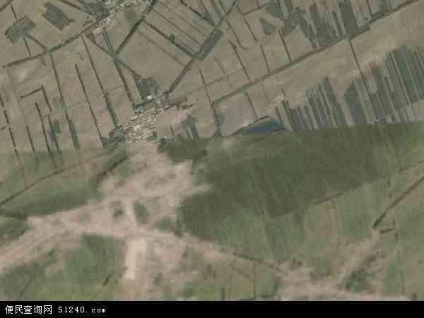 中国吉林省松原市扶余市增盛镇地图 卫星地图